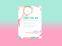 Time for me poster