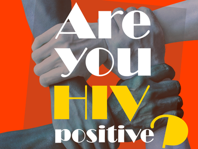 HIV support group poster design