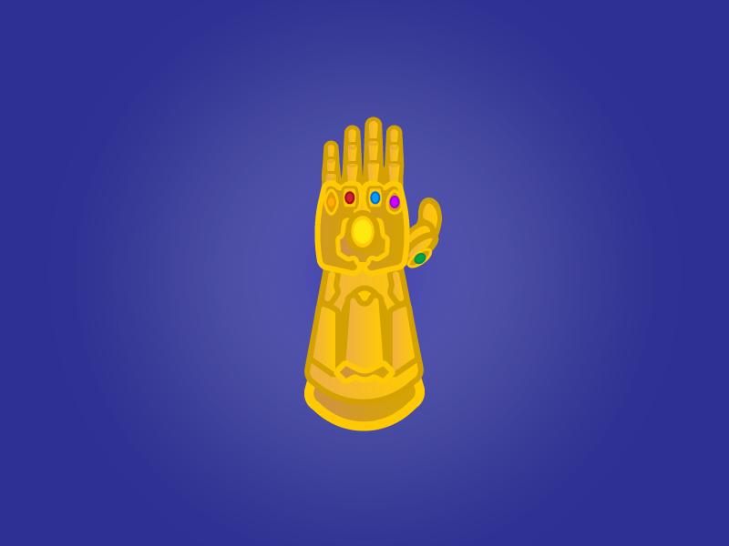 Infinity Gauntlet by Joshua Meister on Dribbble