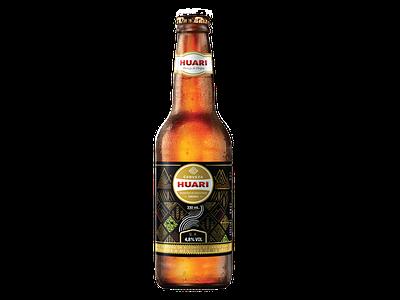Huari Bottle bolivia huari branding packaging beer label beer
