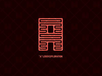"""A"" LOGO EXPLORATION clean branding letter a exploration minimal simple logo"