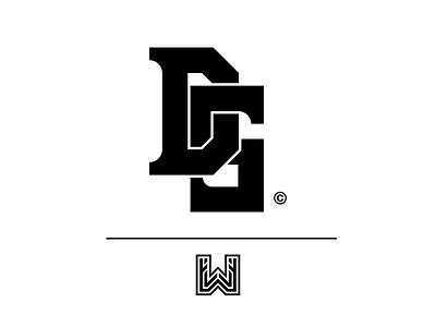 DS Logo // Client Work simple ds minimal logo letters exploration clean branding