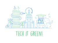 Tech it green!