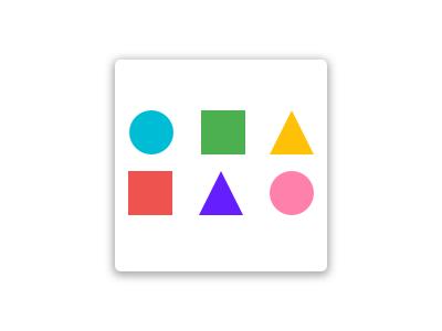 App Icon shapes colors app personal branding icon 005 dailyui
