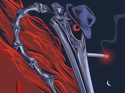 Social Distortion Poster st. petersburg florida pelican concert poters punk rock vector illustration social distortion