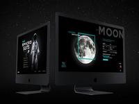 #SPACEDchallenge Homepage Design