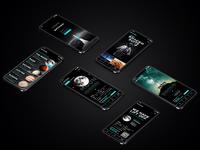 #SPACEDchallenge App Design