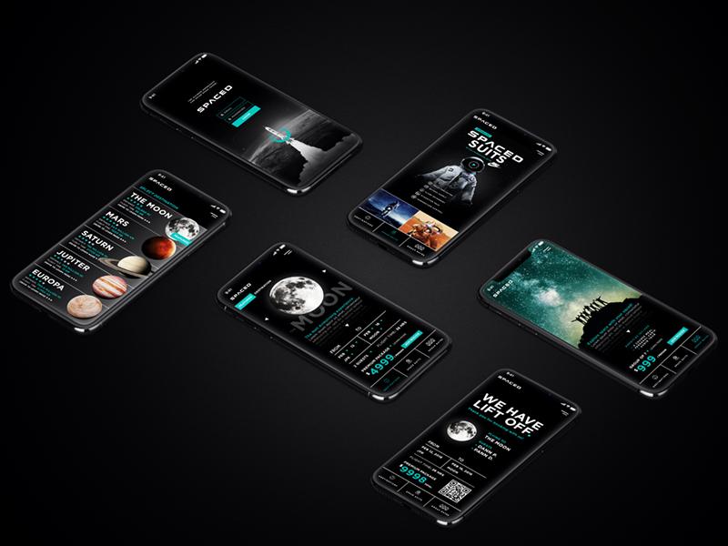 #SPACEDchallenge App Design ux ui web photoshop spacedchallenge