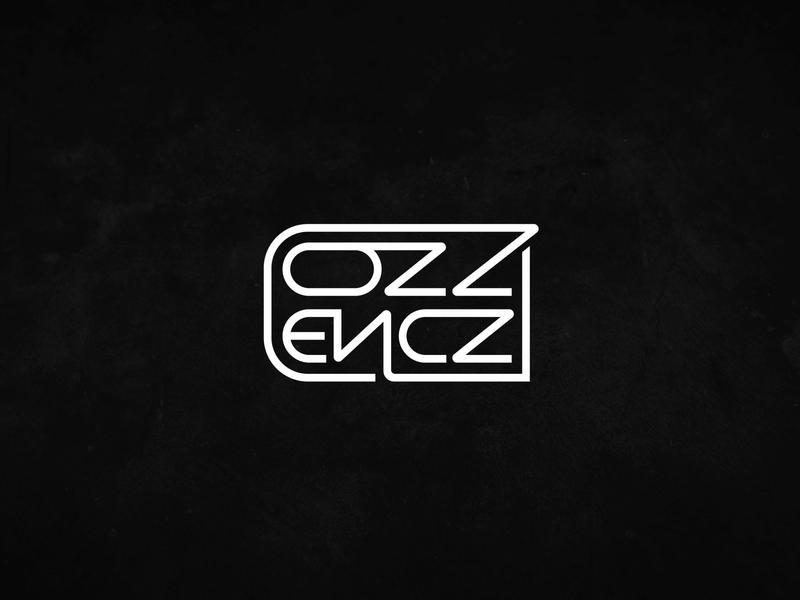 OZZ ENCZ | LOGO | Personal Brand wordmark identity logotype brand logo mark