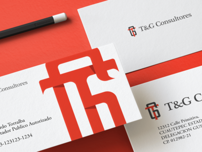 T&G Consultores | Accounting Firm | Branding and Logo