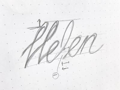 Helen Sketch