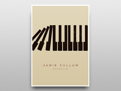 Jamie Cullum OFFICIAL Tour Poster 2013