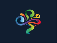 Colorful Tree Logo