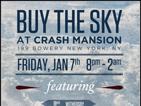 Buy The Sky gig poster