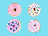 手绘—甜甜圈