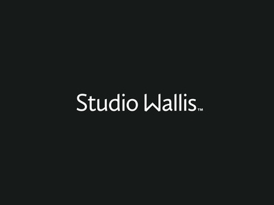 Studio Wallis Wordmark