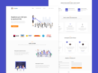 Landing page for HR agency - Daily UI 003