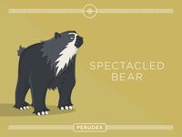 PERUVIAN POKEMON - SPECTACLED BEAR