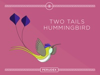 PERUVIAN POKEMON - TWO TAILS HUMMINGBIRD