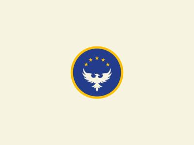 'The Azure Phoenix' Logo Design