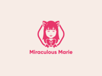 Miraculous Marie Logo Concept