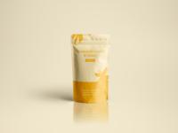 Vanilla Herbal Tea Packaging Design