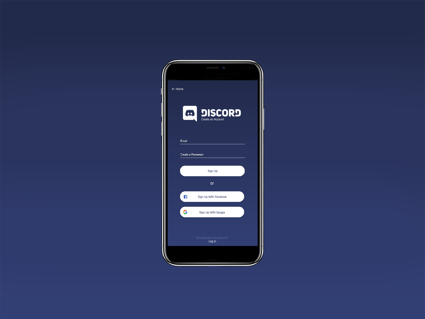 Discord Sign Up