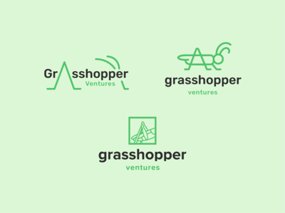 Grasshopper Ventures Logo Explorations