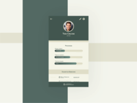 Scientology Profile Page - Daily UI #006