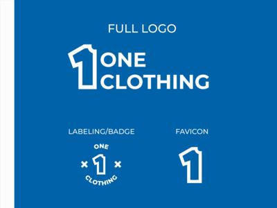 OneClothing - Logo Design Proposal