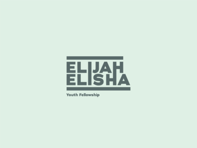 Elijah Elisha Youth Group Logo Exploration