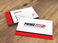 Prime Ship Business card