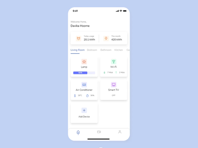 Change Humidity Interaction clean motion interaction ux ui flat design
