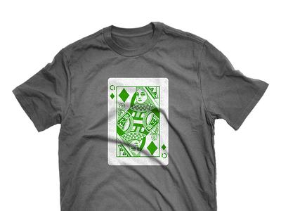 C4Q Queen Of Diamonds T-shirt