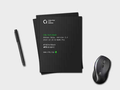 C4Q Tech Bash Pamphlets