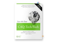 C4Q Tech Bash Save the Date