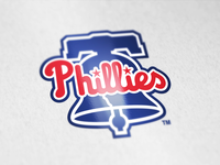 Philadelphia Phillies logo tweak