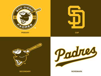 San Diego Padres Logo Concept/Tweak
