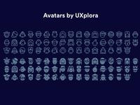 Avatars: Sketch Freebie