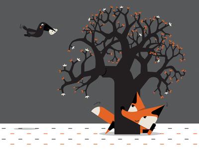 Foxi fox &crow