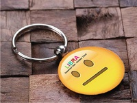 Key Chain Design | Smiley | Libra