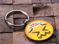 Key Chain Design | Smiley | Virgo