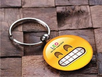Key Chain Design | Smiley | Leo