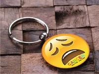 Key Chain Design | Smiley | Cancer