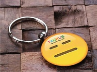 Key Chain Design | Smiley | Taurus