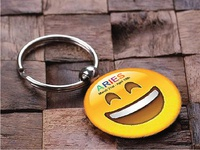 Key Chain Design | Smiley | Aries