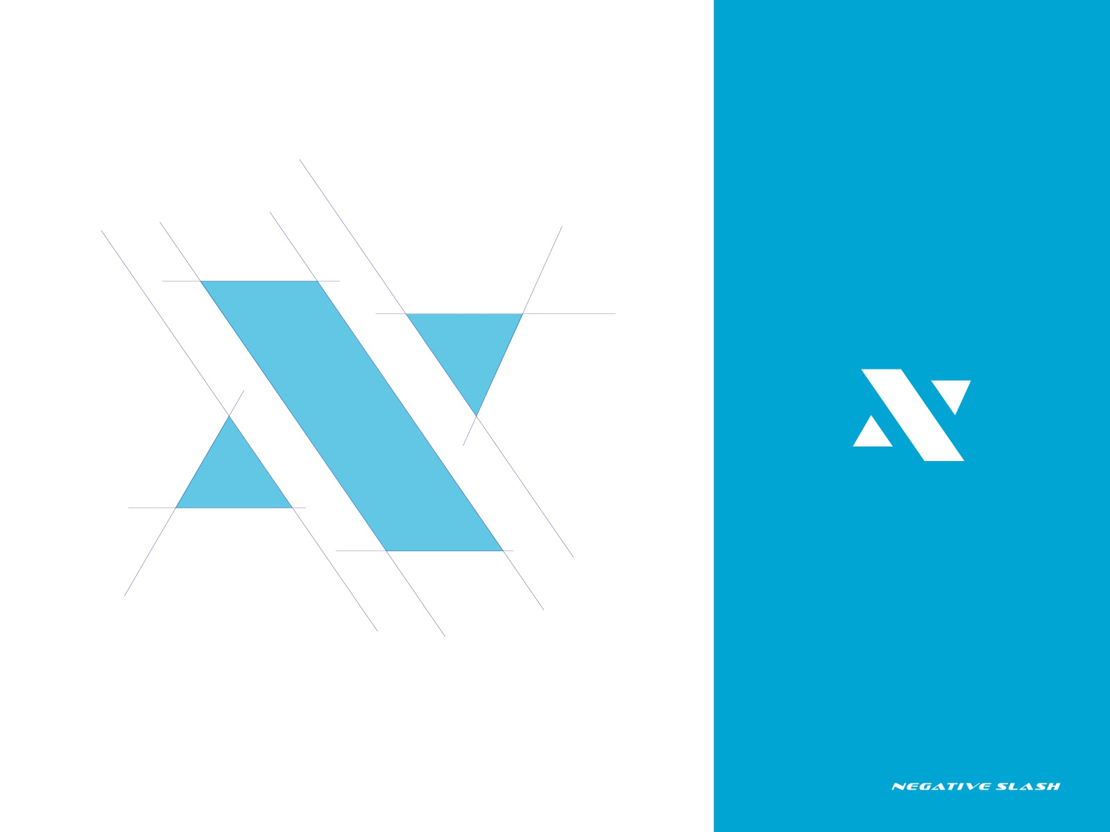 negative slash logo by ullashxp on dribbble negative slash logo by ullashxp on dribbble