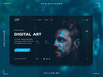 Art digital shot