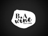 B.A Winery logo