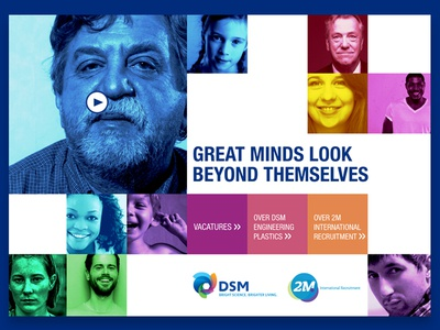 DSM - GREAT MINDS LOOK BEYOND THEMSELVES